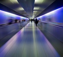 Departure- German Airport by vividpeach