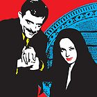 Gomez and Morticia, True love by monsterplanet