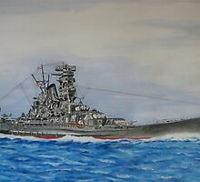 Battleship Yamato by Graphic