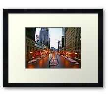 Montreal, Canada Framed Print