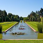 Formal garden, Christchurch, New Zealand. by johnrf
