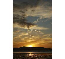 Dublin bay sunrise Photographic Print