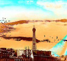 Parisian Mosaic - Piece 20 - The Eiffel Tower by Igor Shrayer