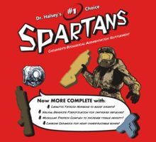 Spartan Vitamins Kids Clothes
