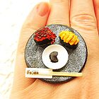 Tokyo Sushi Ring by souzoucreations