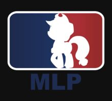 Major League Pony (MLP) - Applejack by phyrjc2