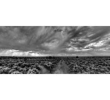 Rift Valley Trail -- B&W Photographic Print