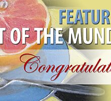 Art of the Mundane: Feature Banner by Shani Sohn