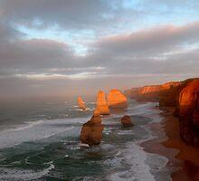 Dawn at the 12 Apostles - Australia by jackandpat