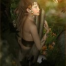 Kissiai the Dryad and the Butterfly by janrique