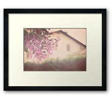 Italian Floral Framed Print