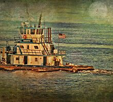 Samantha The Tug Boat by Barbara Zuzevich