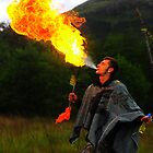 Fire Breather in Glenfinnan by JamesHail