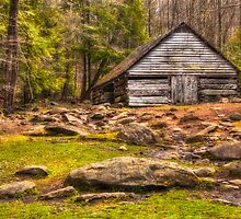 Ogle barn near Roaring Fork by JHRphotoART