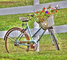 A Basket Full of Flowers by Sheryl Gerhard