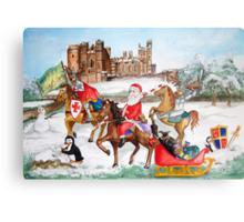 Santa tours Sussex - Arundel Metal Print