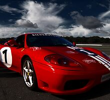 Ferrari 360 Racing Red.  by Mbland