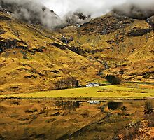 Cottage In Glencoe, Scotland by jacqi