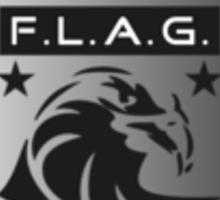 FLAG 2009 Logo Sticker