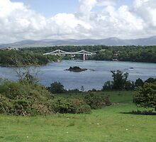 Menai Suspension Bridge by nellie11