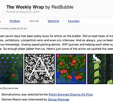 I made the RB Weekly Bubble Wrap! by Donna Huntriss