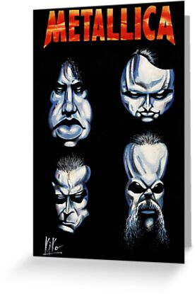 METALLICA CARICATURE by kiko