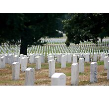 The Stregnth of our Fallen Soldiers Photographic Print