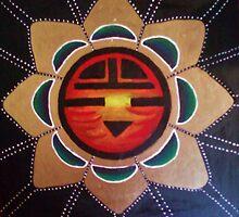 Red Star Kachina by VitalShanti