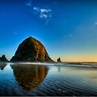 Haystack Rock by J. Day