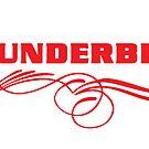 Thunderbird Emblem w Swoop by Frank Schuster