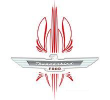 Thunderbird Emblem w Pinstripes by Frank Schuster