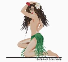 Hula Girl by Frank Schuster