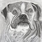 Kyla  ~ sketch of an old lady! by Pieta Pieterse