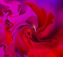 Woman in love - ABSTRACT by haya1812