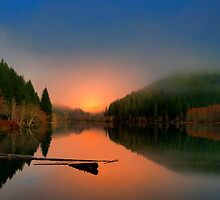 Horton Pond by Charles & Patricia   Harkins ~ Picture Oregon