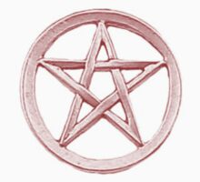 Red Pentagram star by AngelOfHell