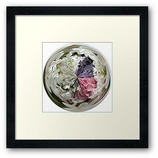 Spring Bouquet Under Glass by Judi FitzPatrick