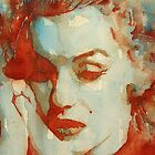 Marilyn Monroe watercolor portraits calendar 2013 by LoveringArts