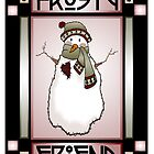 Frosty Friend Snowman #1 by Lynn Evenson