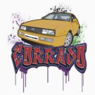 VW Corrado Graff by Steve Harvey