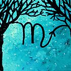 Astrolotree Series - Scorpio by JennyLeeWright