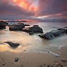 Cartwright Point Sunrise, Taroona, Tasmania #2 by Chris Cobern
