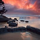 Cartwright Point Sunrise, Taroona, Tasmania by Chris Cobern
