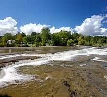 Rivers of water by Josef Pittner