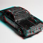 Anaglyph Hot Wheels 3 by Daniel Owens
