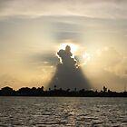 Spotlight on clouds by Suelynn