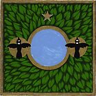 Magpie Two (Oracle card) by Donna Huntriss
