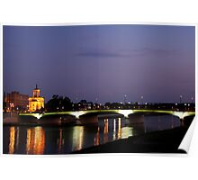 Main High Street Bridge - Hamilton Ohio II Poster