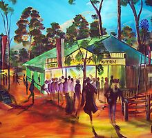 Muster Tavern   Green Gympie by robert (bob) gammage