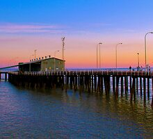 derby jetty at sunset by nicole makarenco